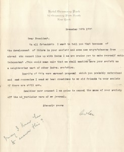 NAF 3-1-17-19 Letter from Adler, 1933